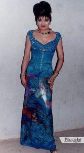 creazione della stilista Marilia Luthya