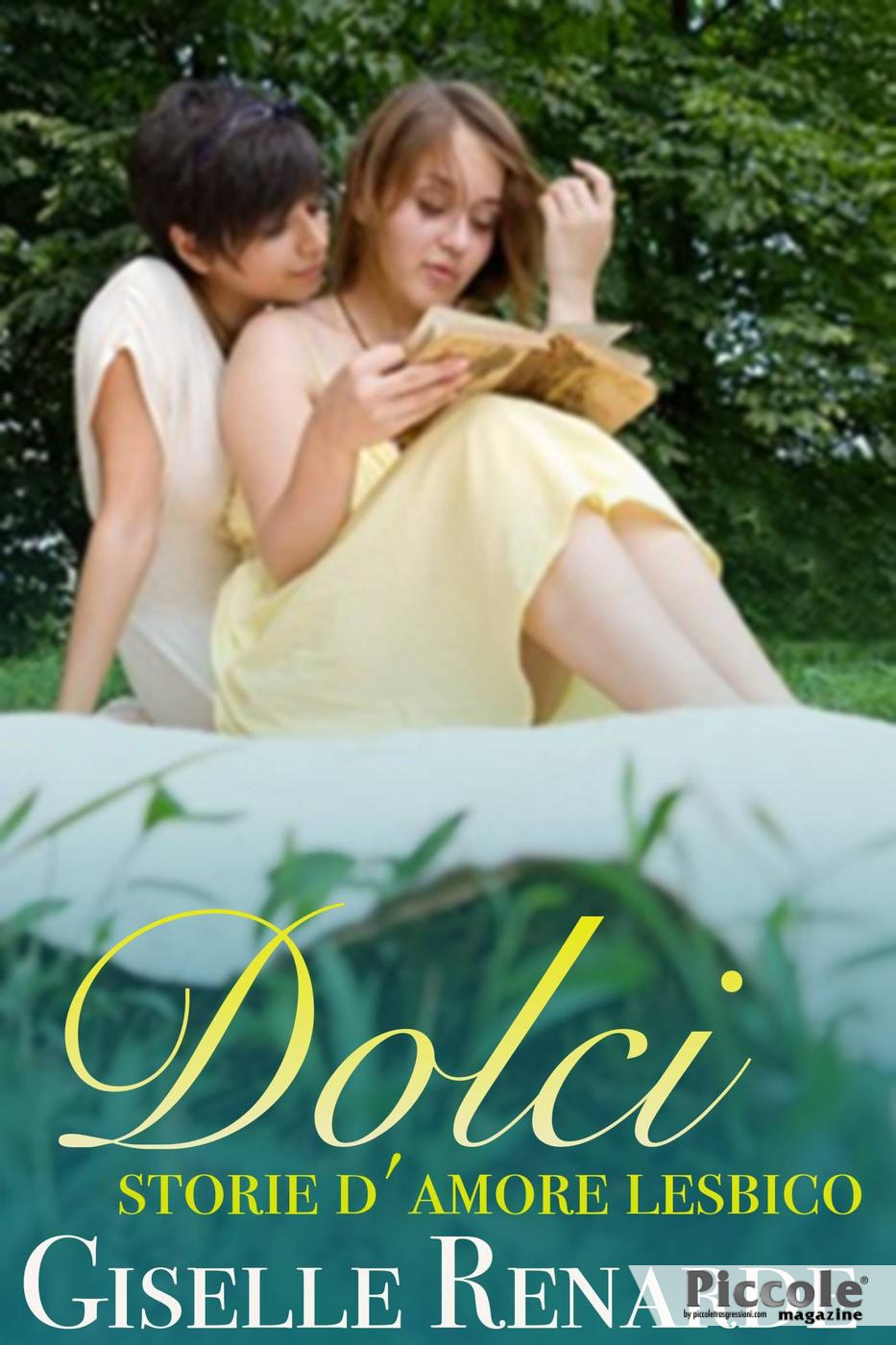 Foto copertina del libro Dolci storie d'amore lesbico