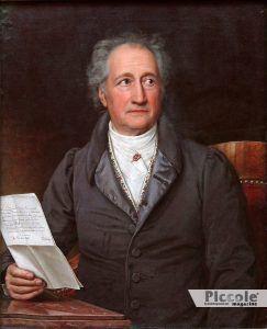 LUNA nei segni di Fuoco ed Acqua Goethe