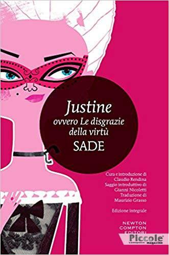 Foto copertina del libro Justine ovvero le disgrazie della virtù di François de Sade