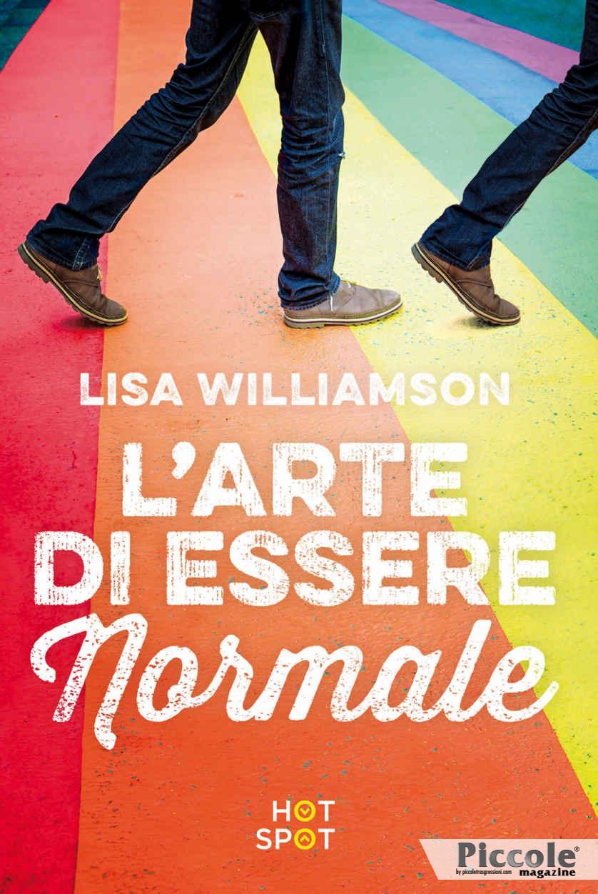 Foto copertina del libro L'arte di essere normale