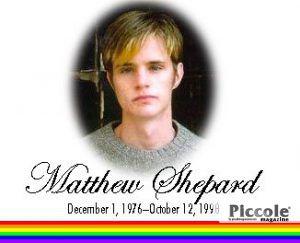 In ricordo di Matthew Shepard