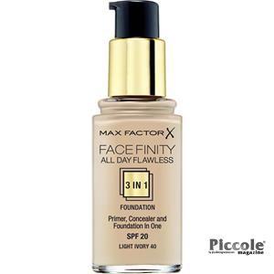 Fondotinta Facefinity All Day Flawless di Max Factor