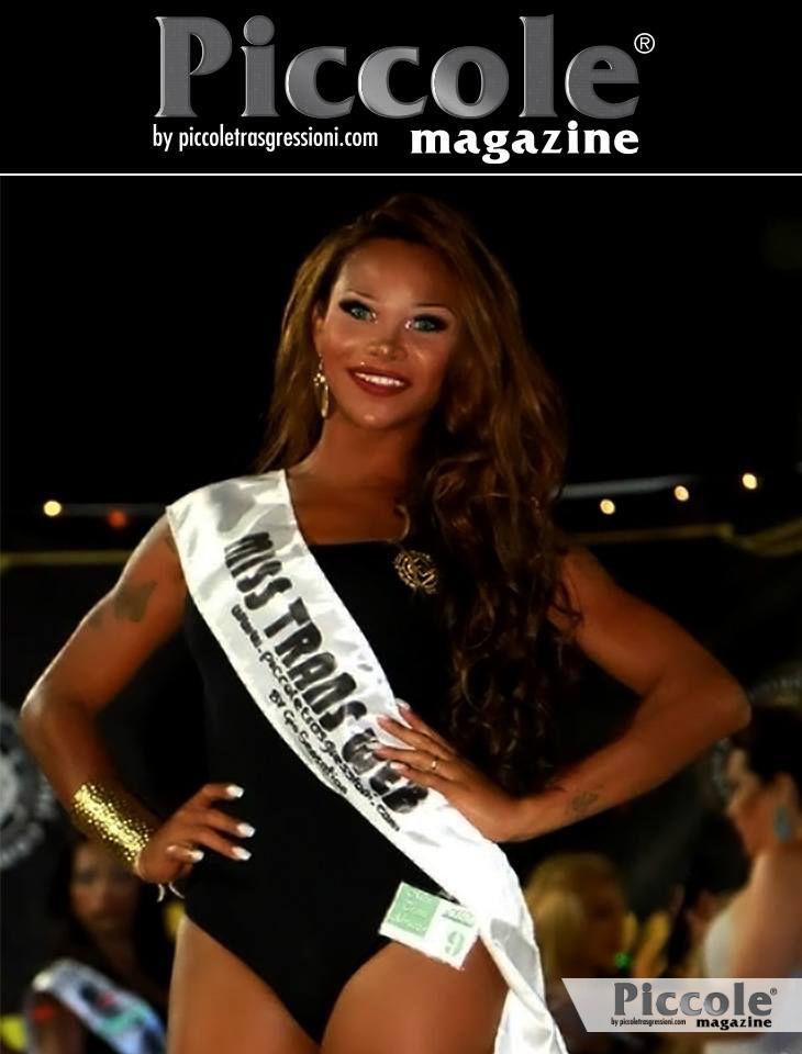 Nicolly Mascarenhas, Miss Trans Web Abruzzo 2018