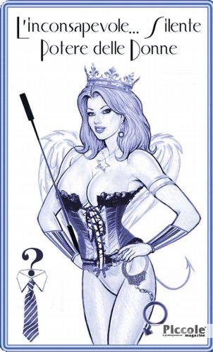Foto copertina del libro L'inconsapevole. . . e Silente Potere delle Donne di Lucretia Serthra