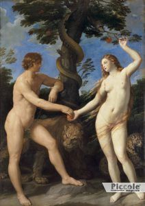 INGENUITÀ E OSCENITÀ Adamo ed Eva