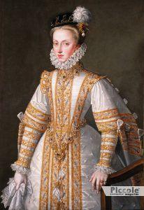LE NOBILI DEL LETTO: Anna d'Asburgo