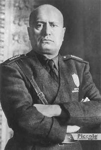 Luminari e Pianeti: MARTE Benito Mussolini