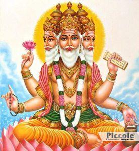 L'INDIA E IL FALLO Brahma