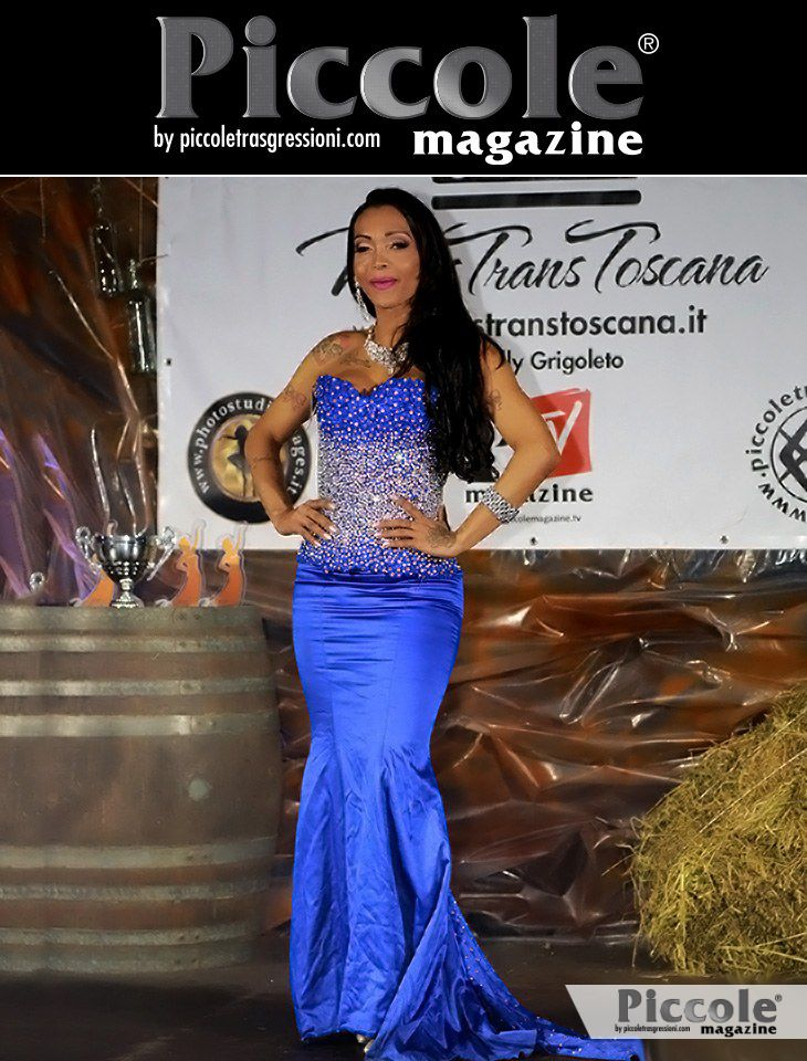 Intervista a Brenda Magnom, II classificata a Miss Trans Toscana 2018