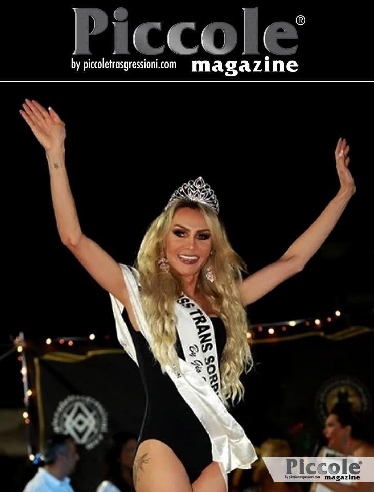 Intervista a Chrystal Medeiros, Miss Trans Abruzzo 2018 sez. SudAmerica