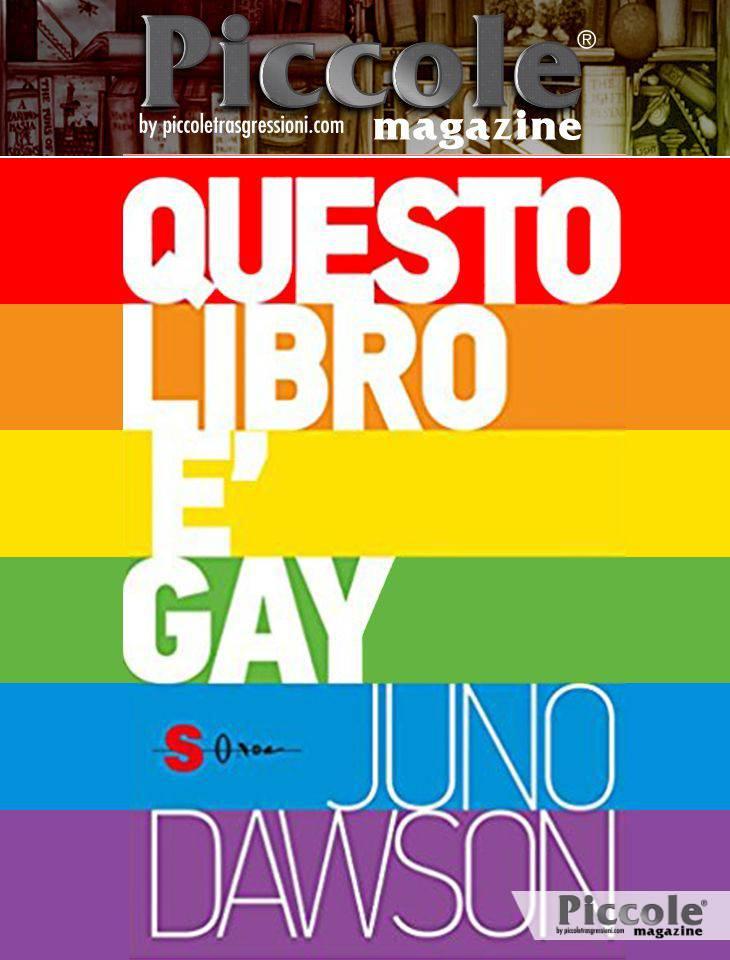 Foto copertina del libro Questo libro è gay di J. Dawson