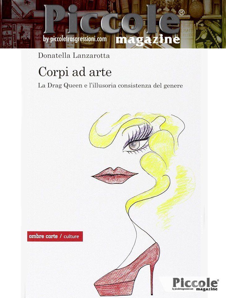 Foto copertina del libro Corpi ad arte di Donatella Lanzarotta