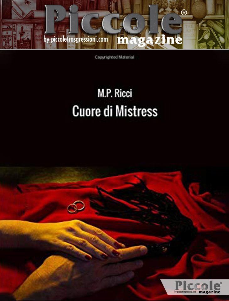 Foto copertina del libro Cuore di Mistress di M. P. Ricci
