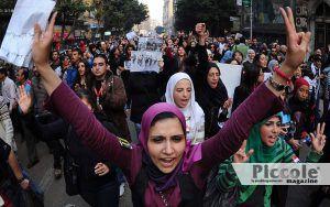 Le donne del Cairo vogliono gli stessi diritti delle trans
