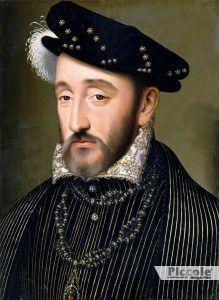 VENERE nei segni di Fuoco e Acqua Enrico II