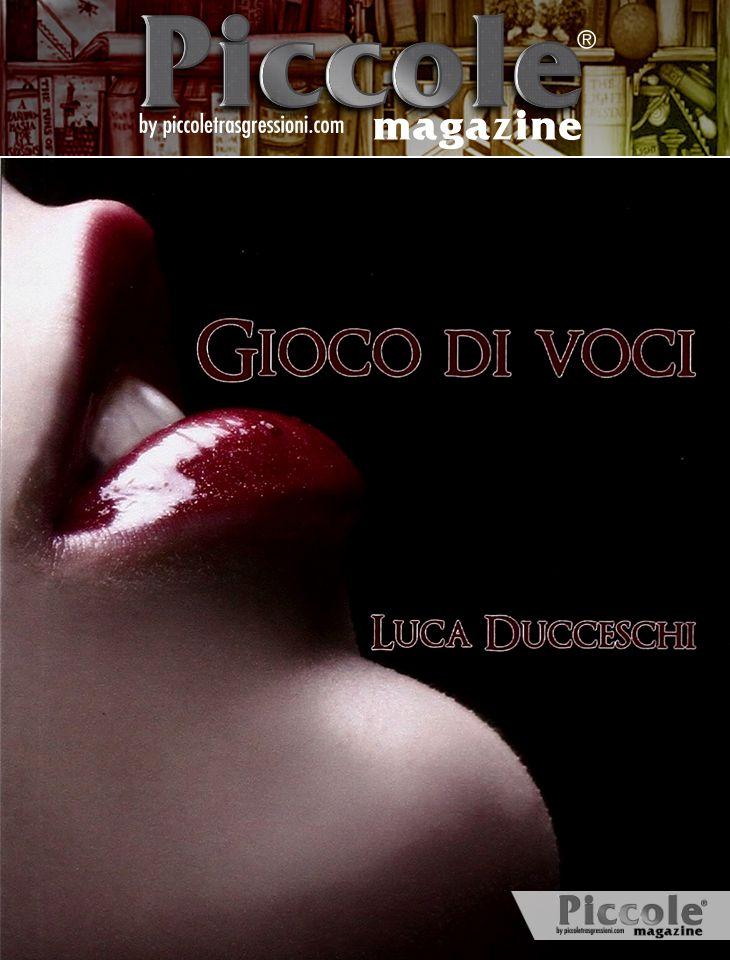 Foto copertina del libro Gioco di voci di Luca Duccheschi
