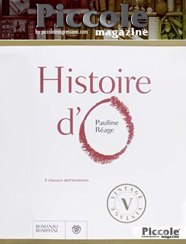 Foto copertina del libro Histoire d'O di Pauline Rèage - Libri di Genere