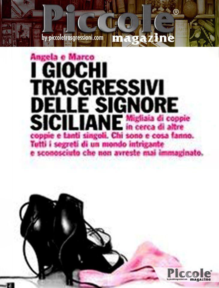 Foto copertina del libro I giochi trasgressivi delle signore siciliane di Angela e Marco