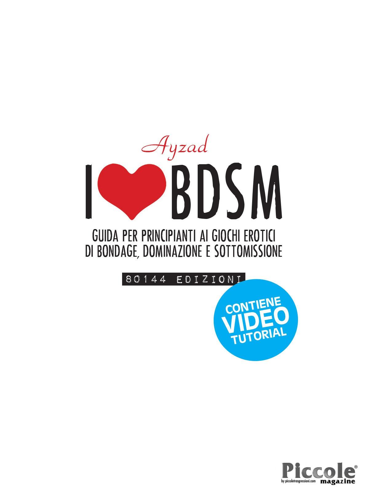 Foto copertina del libro i love bdsm scritto da Ayzad