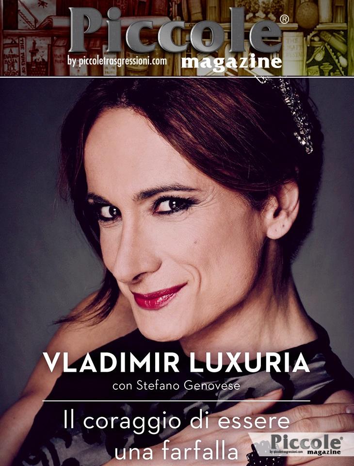Foto copertina del libro Il coraggio di essere una farfalla di Vladimir Luxuria