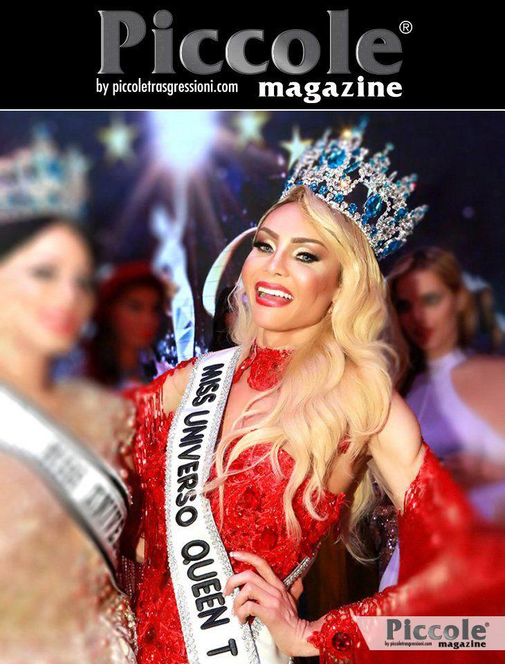 Chrystal Medeiros, Miss Universo Queen T 2018 e trans a Senigallia