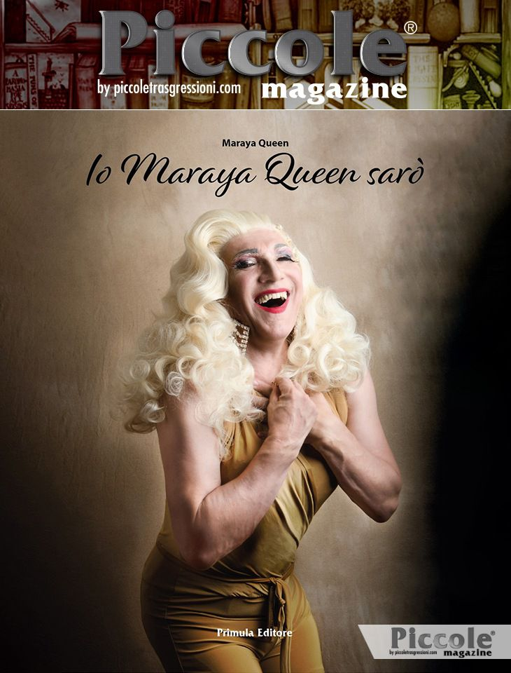Foto copertina del libro Libro Io Maraya Queen sarò