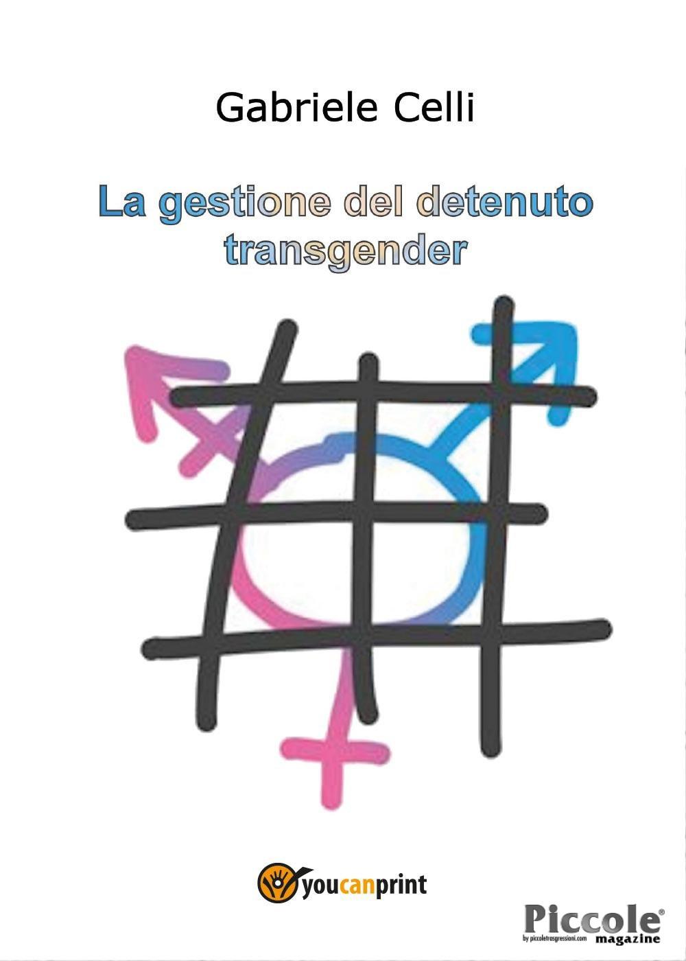 Foto copertina del libro la gestione del detenuto transgender