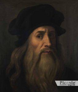 LUNA nei segni di Fuoco ed Acqua Leonardo da Vinci