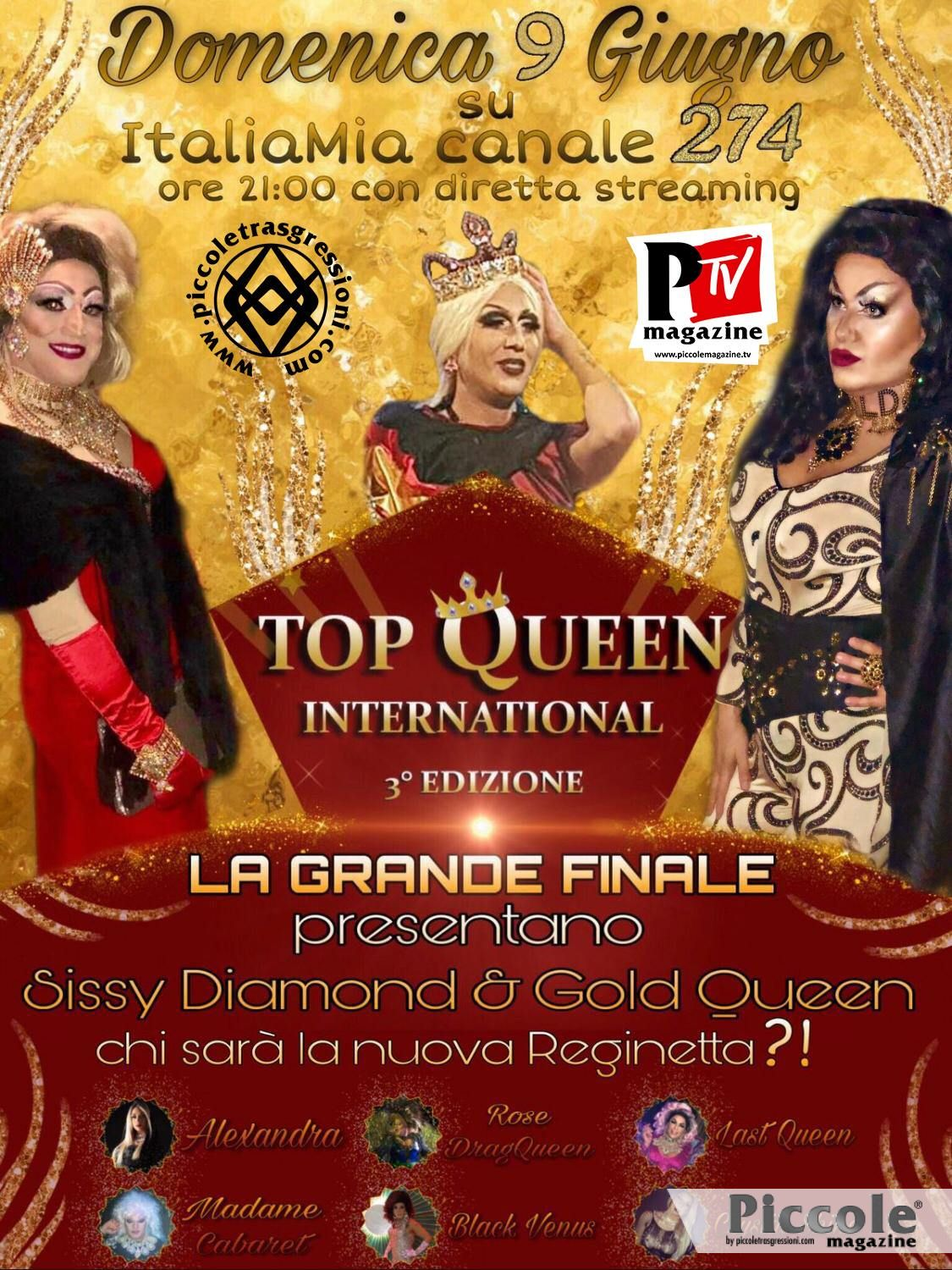Gold Queen ci aspetta a Top Queen International!