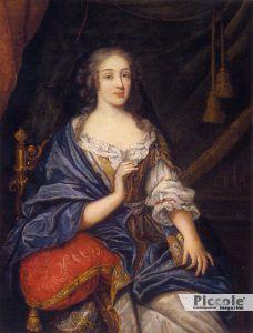 LE NOBILI DEL LETTO: Louise de la Vallière