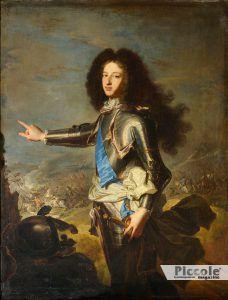 LE NOBILI DEL LETTO: Luigi XIV