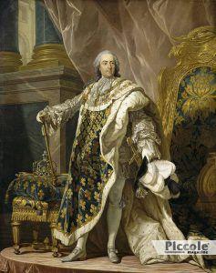 LE NOBILI DEL LETTO: Luigi XV