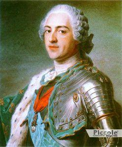 LA FINE DI UN'AMANTE: Luigi XV
