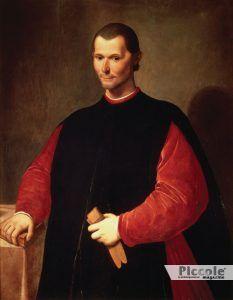 Non solo nel sesso Machiavelli