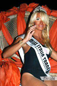 Giada Broda, vincitrice Miss Trans Italia 2006