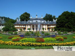 La congiura contro l'amante: Palazzo di Pillnitz