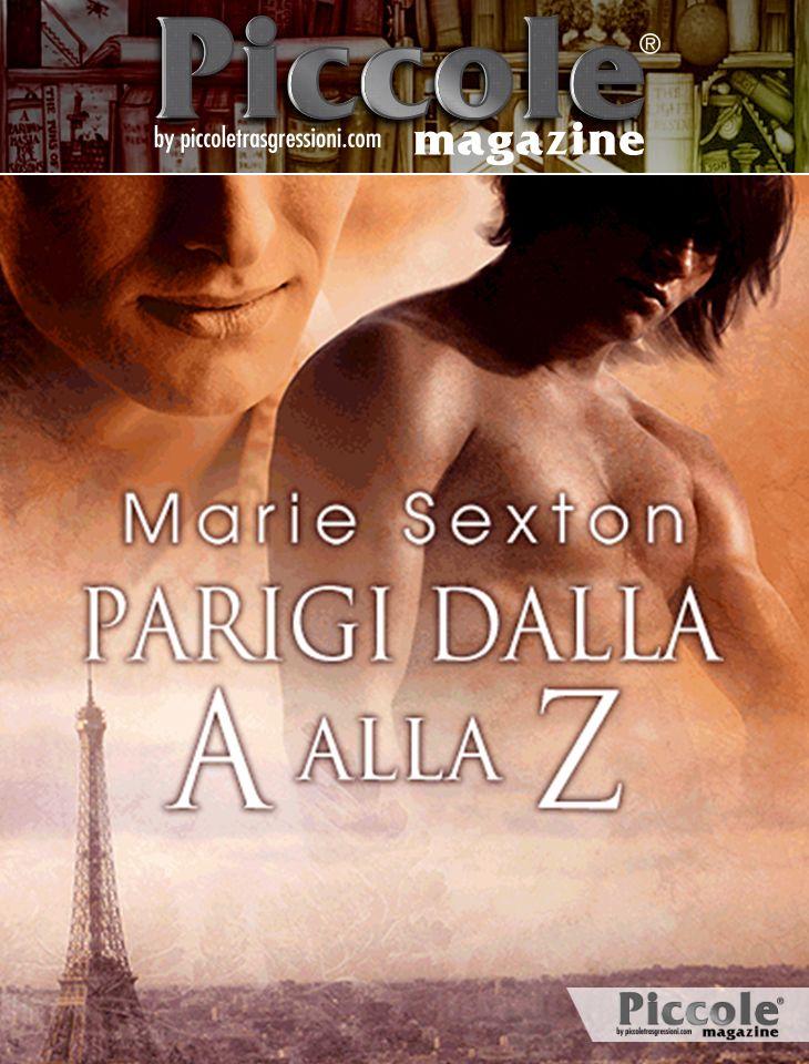 Foto copertina del libro Parigi dalla A alla Z di Marie Sexton