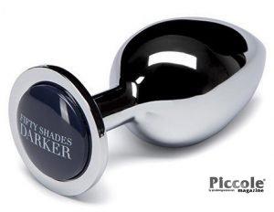 Plug e Dildo Anale In Metallo - Plug Beyond Erotic Steel Pleasure - Fifty Shades Of Grey