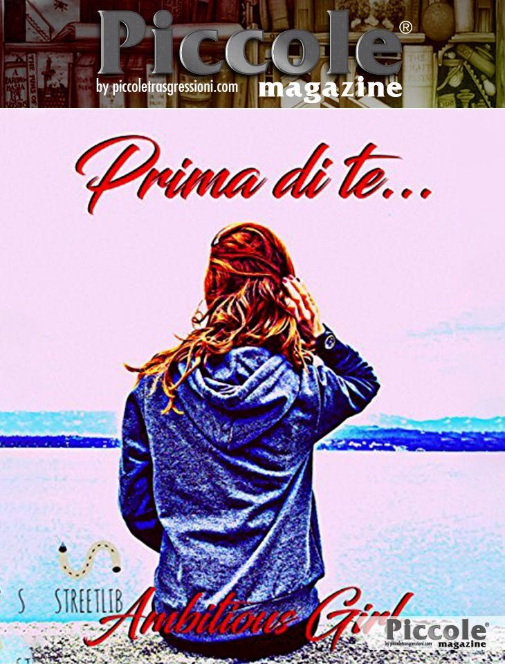Foto copertina del libro Prima di te...di Ambitious Girl
