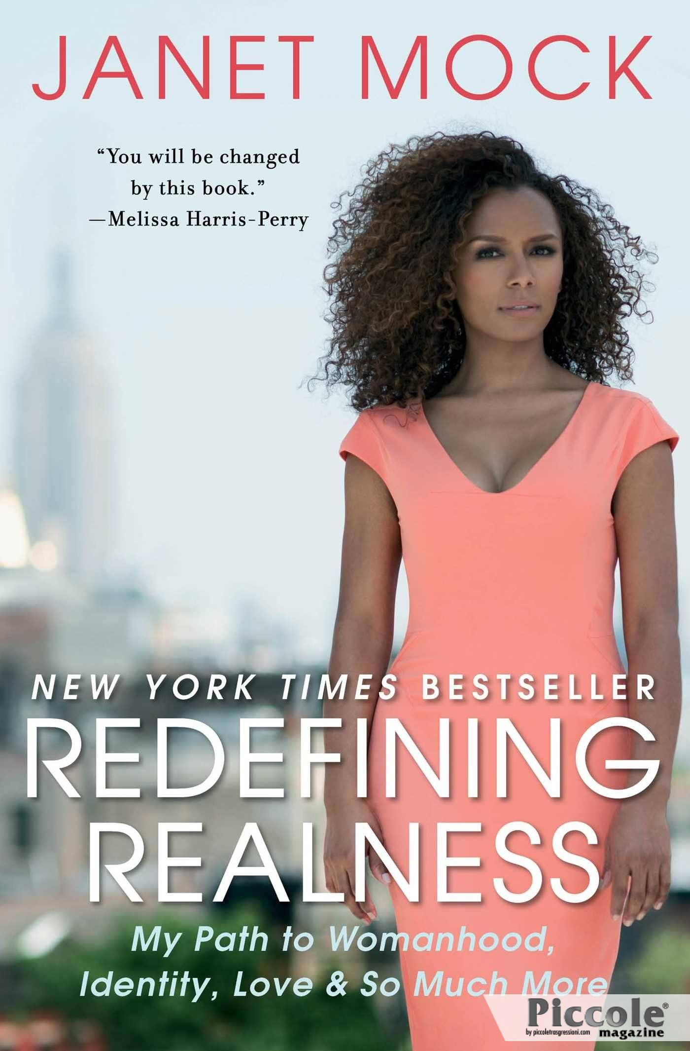 Foto copertina del libro Redefining Realness di Janet Mock