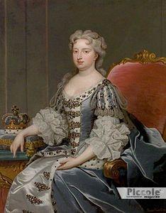 La Regina Caroline Ansbach - amante vecchia