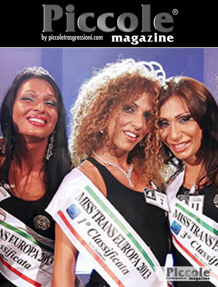 Intervista a Sirya Piccolo, Miss Trans Europa 2013