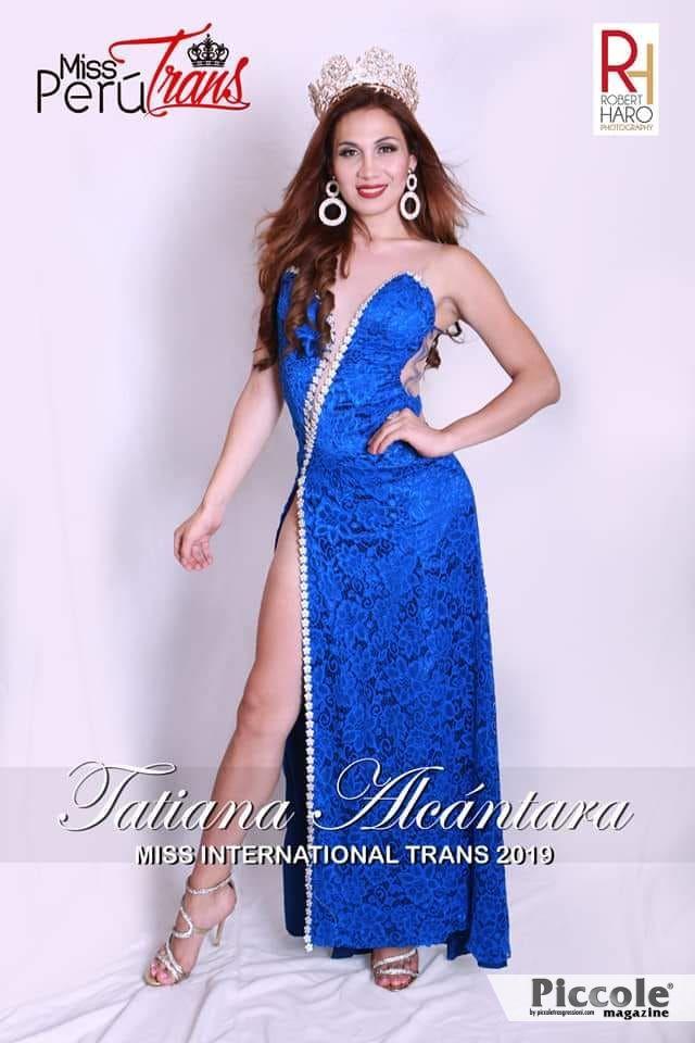 Intervista a Tatiana Alcantara, Miss Perù Trans International 2018 e Miss Trans International 2019