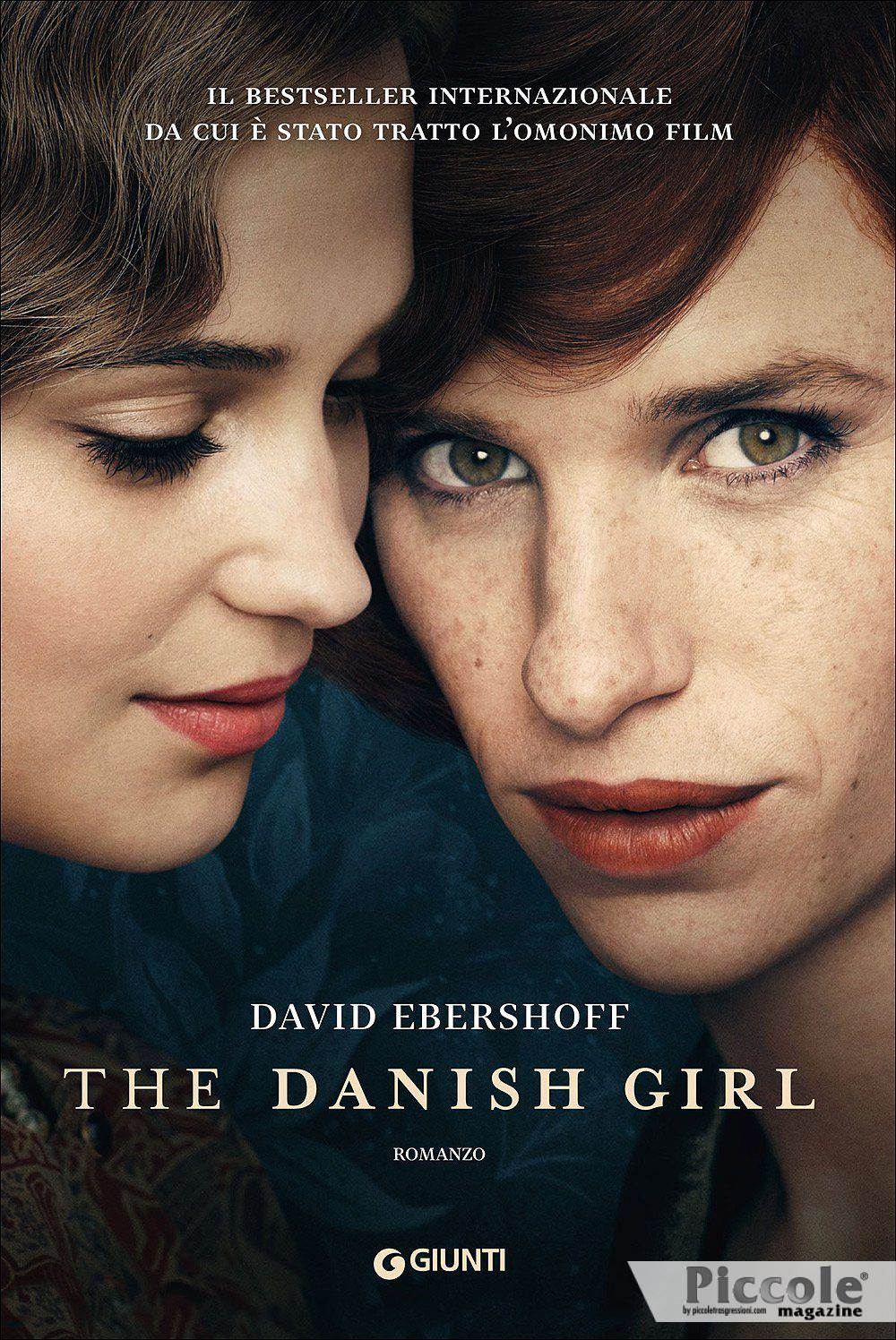 Foto copertina del libro The Danish Girl di David Ebershoff
