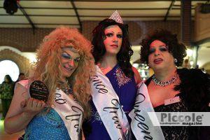 Lakisha Moore con Miss Aurora e Melissa Ladolce