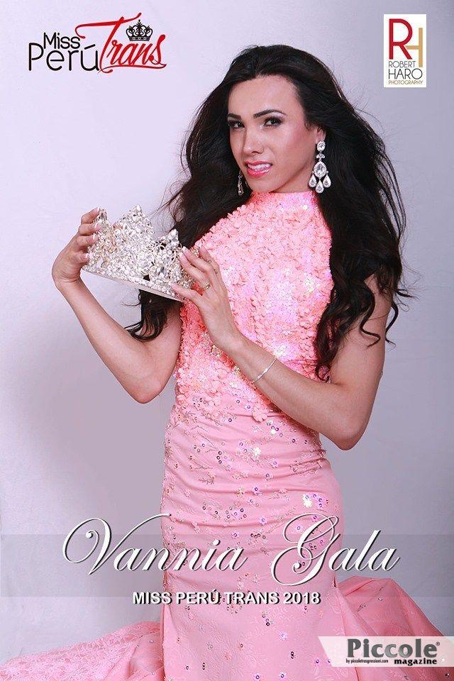Intervista a Vannia Gala, Miss Perù Trans 2018