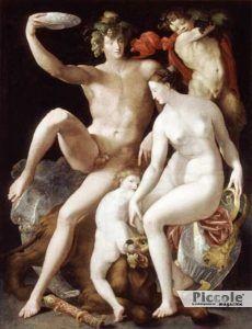 Il pene divino: Venere e Bacco