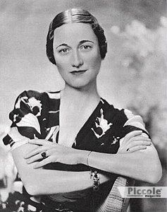 SENZA SANGUE BLU: Wallis Simpson